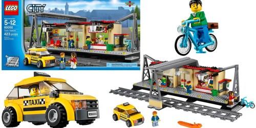 LEGO City Train Station Only $40.98 (Reg. $64.99)
