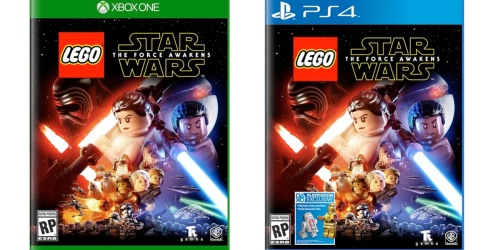 Best Buy: $20 Off LEGO Star Wars The Force Awakens Video Games = As Low As $29.99