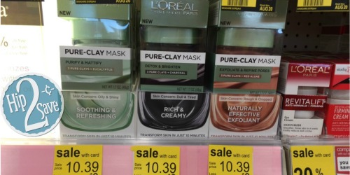 Walgreens: L'Oreal Paris Pure-Clay Mask ONLY $4.39 (After Ibotta)