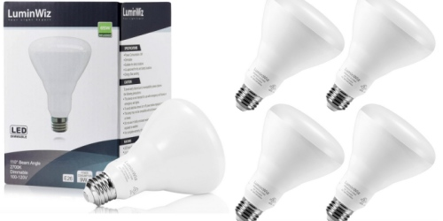 Amazon: 4 Pack of LED Dimmable Flood Lights ONLY $11.99 (Just $2.99 Per Bulb)