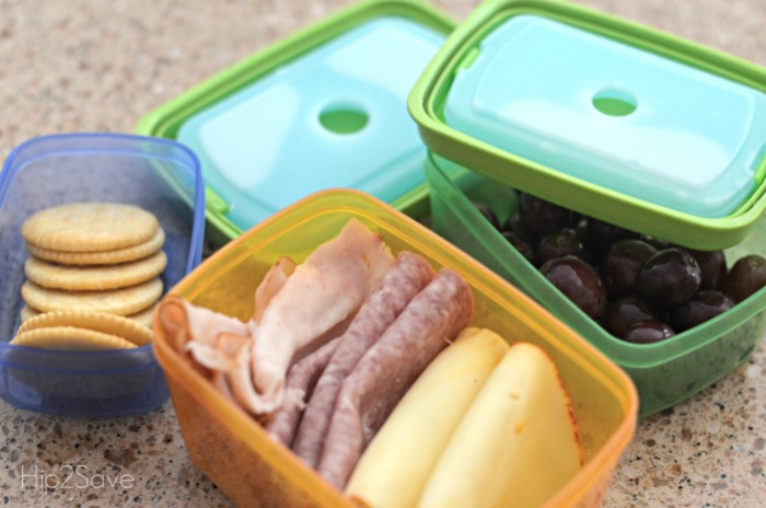Lunch Containers with Freezer Packs Hip2Save.com