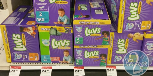 Target: Luvs Super-Packs ONLY $11.74 Each (After Gift Card)