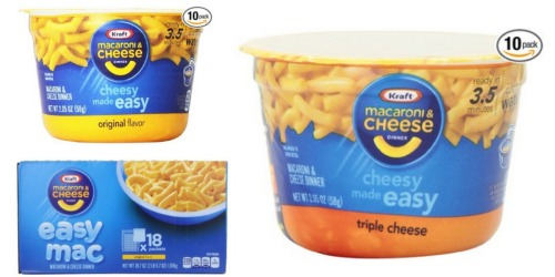 Amazon Grocery Deals: Save BIG on Kraft Mac & Cheese, Nature's Bakery Bars + More