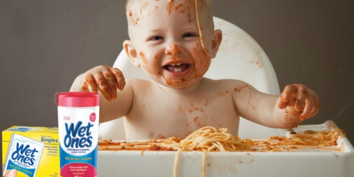 Have Messy Kids? Enter the Wet Ones Contest for a Chance to Win a $2,500 Prepaid Visa Card!