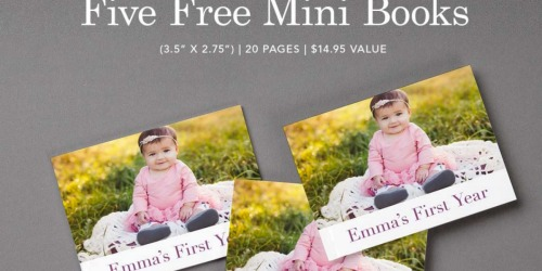 My Publisher: 5 FREE Mini Photo Books ($14.95 Value) – Just Pay $1.39 Shipping
