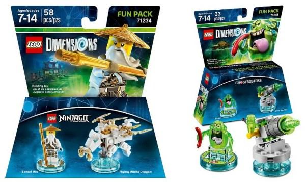 More Lego Dimensions Fun Packs