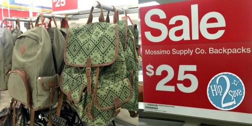 Target Cartwheel: 30% Off Mossimo Supply Co. Women's Backpacks & Weekender Bags