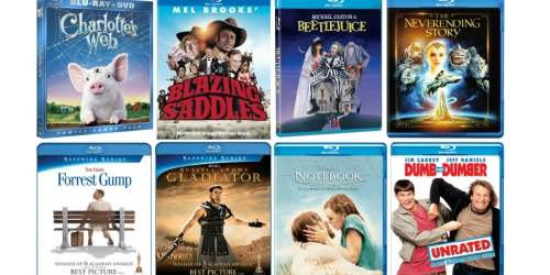 Amazon: THREE Select Blu-ray Movies Only $19.99 (Forrest Gump, Dumb and Dumber & Lots More)