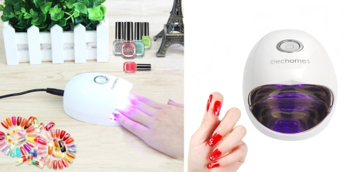 Amazon: Gel Nail Dryer & Lamp Only $9.99 (Regularly $17.99)
