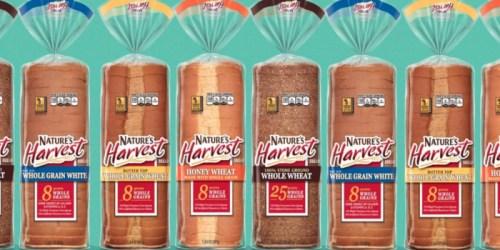 Rare $0.55/1 Nature's Harvest Bread Coupon = Nice Deals at Target & Walmart