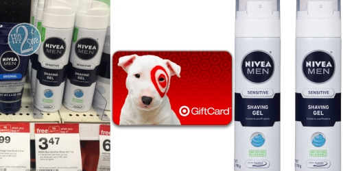 New $2/2 Nivea Men Face Care Product Coupon = Shaving Gels Only $1.22 Each at Target
