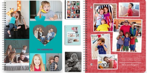 RewardsRUs Members: Possible Free 5×8 Shutterfly Notebook (Check Your Inbox)