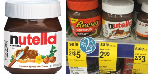 *HOT* $2/1 Nutella 13oz Hazelnut Spread Coupon = ONLY $0.99 at Walgreens (Thru Tomorrow)