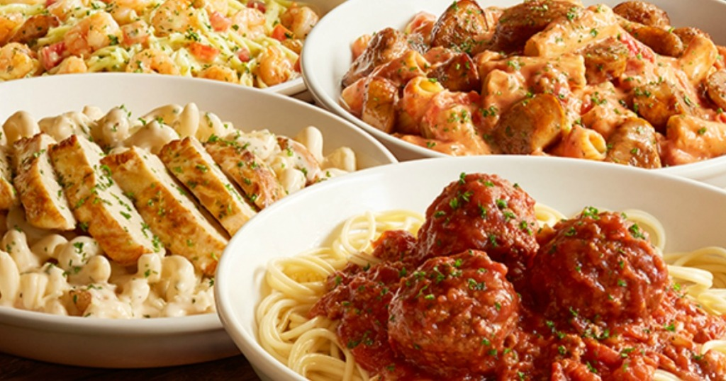 Olive Garden Has A Crazy New Breadstick Creation: Olive Garden: 20% Off Online To-Go Orders = Salad, Pasta