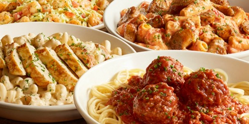 Olive Garden: 15% Off To-Go Orders = Salad, Pasta AND Breadsticks ONLY $8.49