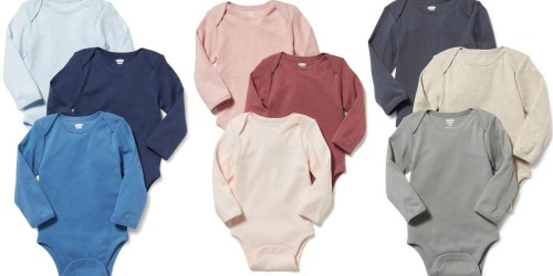 Old Navy: 40% Off Everything (NO Exclusions) = Infant Bodysuit 3-Packs Only $9.45 (Regularly $24.94)