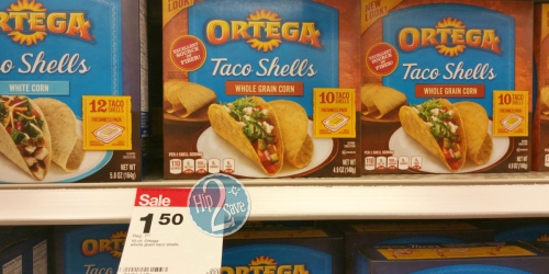 Target: 25¢ Ortega Taco Seasoning Mix + Taco Shells Only $1 Per Box (Cheap Taco Night!)