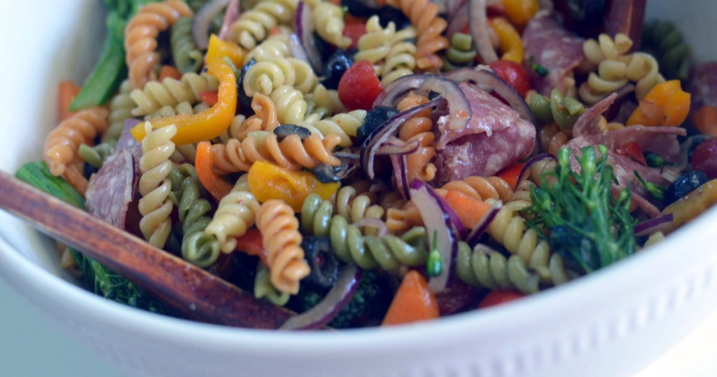 pasta salad recipe for football tailgating