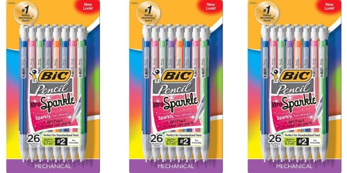 Target: BIC 26 Count Mechanical Pencils with Xtra Sparkle Only $3.79 (Regularly $6.49)