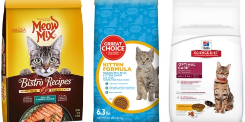 PetSmart: Meow Mix 12-Pound Cat Food Only $0.99 (After Price Match AND $10/1 Petco Coupon)