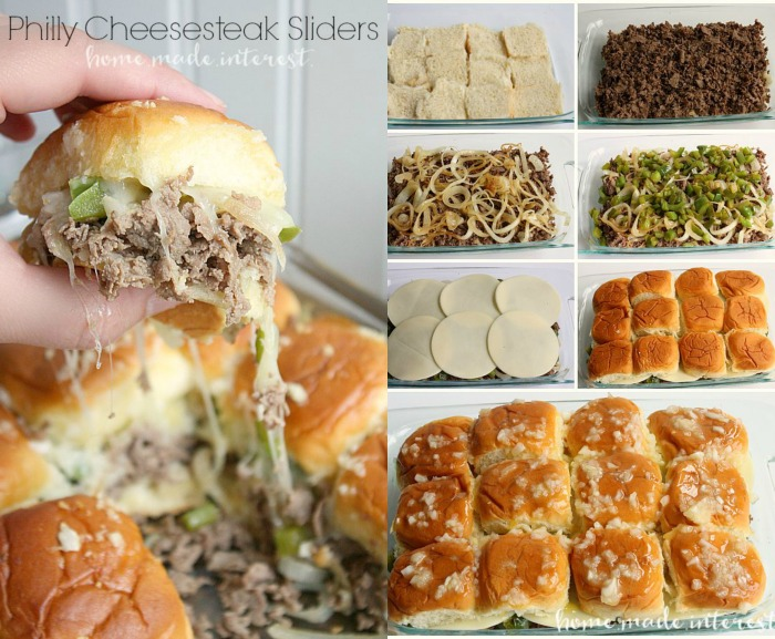 Phily Cheesecake Sliders