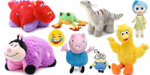 Plush Toys ONLY $1-$5 (Regularly Up To $24) – Pillow Pets, Webkinz, Sesame Street, Disney & More