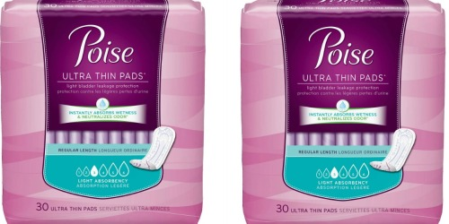 Walgreens: Better Than Free Poise Pads (After Ibotta Rebate)