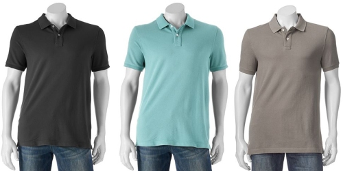 Kohl's Cardholders: Men's Polo Shirts ONLY $5.59 Shipped (Regularly $26)