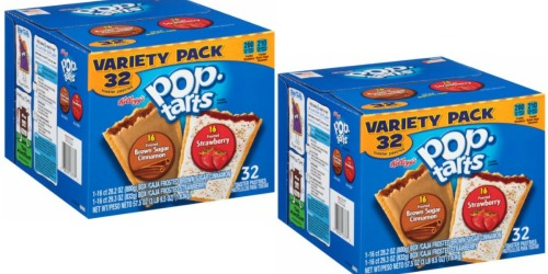 Amazon: Pop-Tarts Variety Pack LARGE 32 Count Box Only $4.90 Shipped
