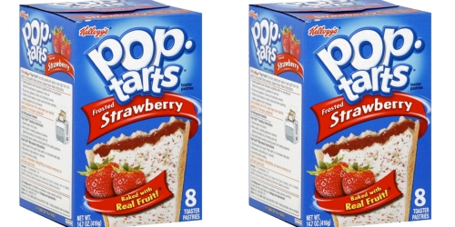 Amazon: 12 Boxes of Frosted Strawberry Pop Tarts Only $12.82 Shipped – Just $1.07 Per Box