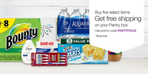 Amazon Prime Pantry: Free Shipping with Purchase of 5 Select Items
