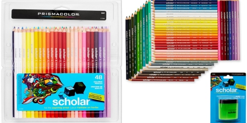 Amazon: Prismacolor Scholar Colored Pencils 48-Pack Only $13 (Fantastic Reviews!)