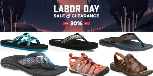 REI.com: Up to 50% Off Labor Day Sale = Deep Discounts on Teva, Chaco, Keen & More