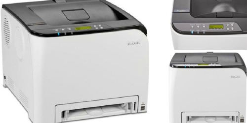 Highly Rated Ricoh Wireless Laser Printer $69.99 Shipped (Regularly $149.99)