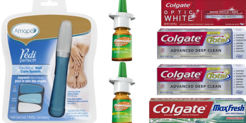 Rite Aid: Nice Deals On Zyrtec, Amope & FREE Toothpaste (Starting 8/28)