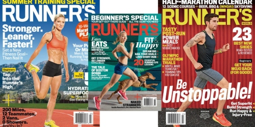 FREE Magazine Subscription for Runner's World | No Strings Attached
