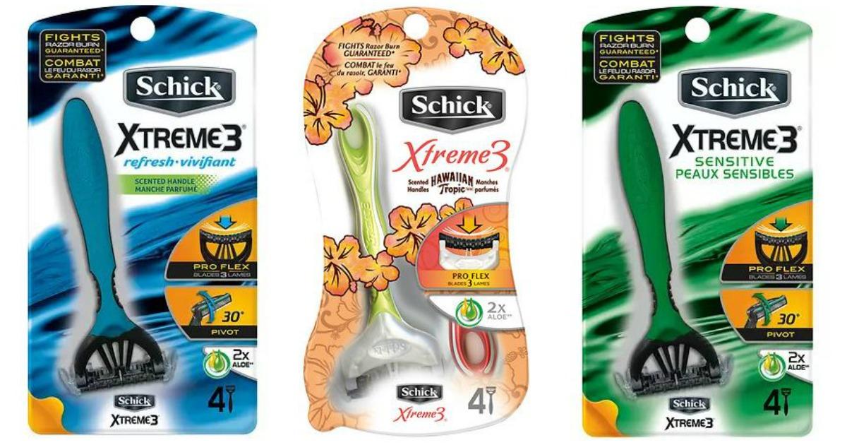 Schick Xtreme3 Razors