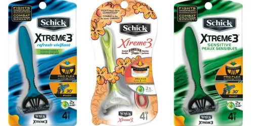 Walgreens: Schick Razors Only $2.61 Each (After Balance Rewards Points)