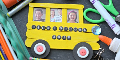 Fun and Easy Back-to-School Photo Frame Craft