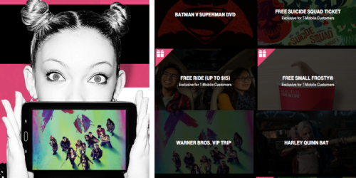 T-Mobile Tuesday: Win Free Fandango Movie Ticket, Free Lyft Rides, Free Wendy's Frosty & More