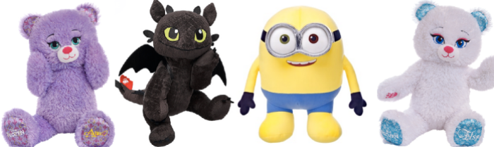 Build-A-Bear: Buy 1 Get 1 Free Make Your Own Furry Friends