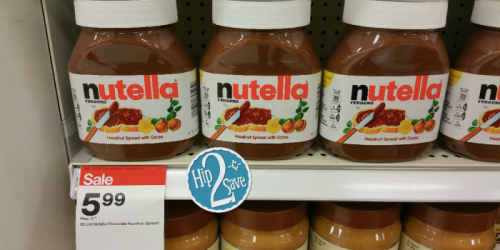 Buy Nutella Spread & Score $2 Cash Back from Checkout 51! Makes for a GREAT Deal at Target.
