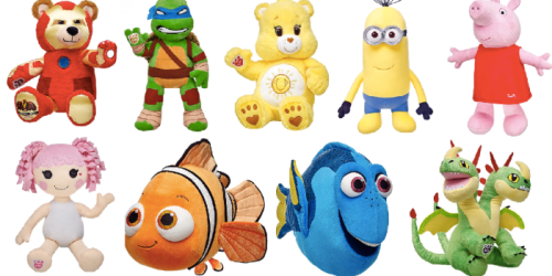 Build-A-Bear: Buy 1 Get 1 Free Make Your Own Furry Friends = FOUR Items ONLY $12.50 Each Shipped