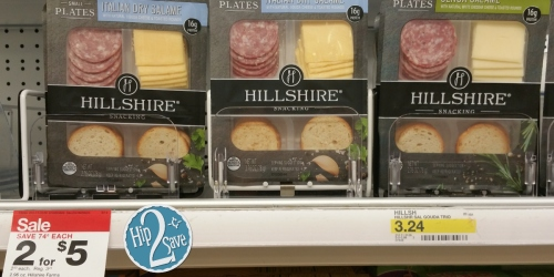 Target: Hillshire Snacking Small Plates Only 25¢ (After Ibotta) – Regularly $3.24