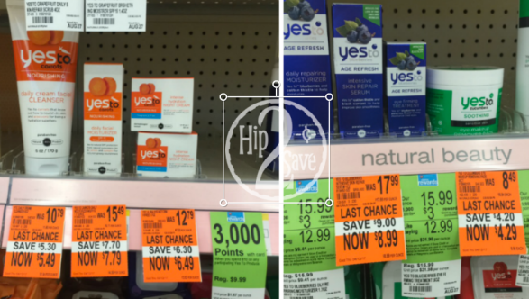Yes To Clearance - Walgreens