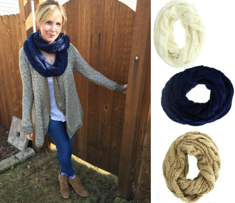 Cents of Style Boot & Scarf Promo