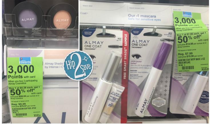 Almay Products at Walgreens