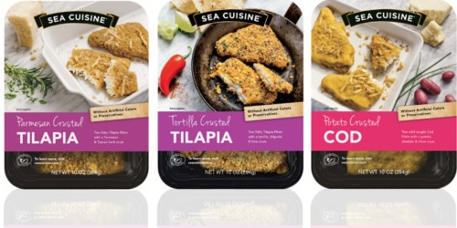Target: Sea Cuisine Frozen Seafood Entree Only $3