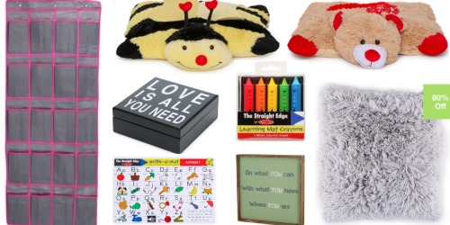 Shoe Organizer Just $3 / Pillow Pets Pee Wees Only $2 / Melissa & Doug Items Starting at $2