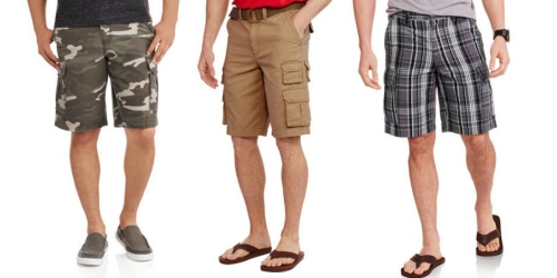 Walmart: Faded Glory Men's Cargo Shorts Only $8 or Big Men's Shorts Just $9.50 (Regularly $18.84)